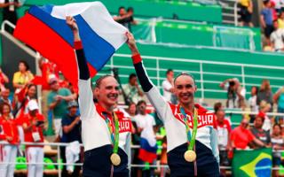 Российские синхронистки Наталья Ищенко и Светлана Ромашина - олимпийские чемпионки 2016