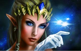 Фэнтези эльфийская принцесса