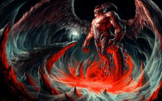Маг и демон