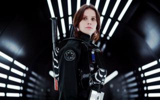 Фелисити Джонс в фильме Изгой-один. Звёздные войны. Истории