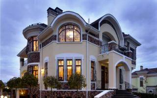 Дом с арками