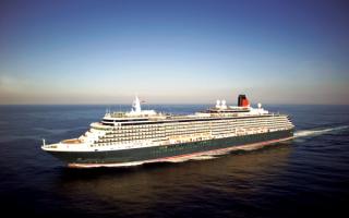 Круизный лайнер Cunard Cruise