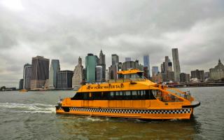 Водное такси в Нью-Йорке