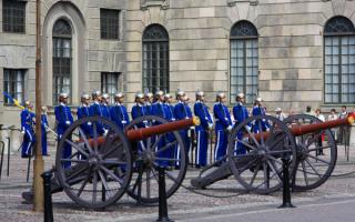 Гвардейский караул короля Швеции