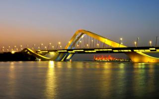 Мост Шейха Заеда в ОАЭ