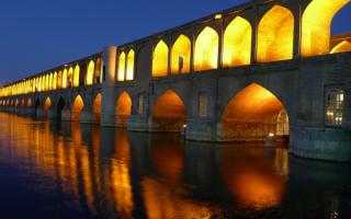 Пешеходный мост в Иране