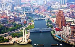 Мосты в Шанхае