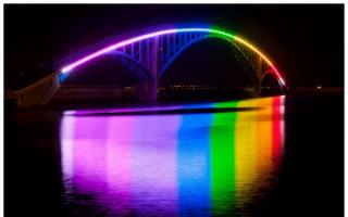 Радужный мост  в Магонге, Тайвань