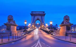 Цепной мост Сеченьи в Будапеште
