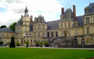 Замок Фотенбло. Франция