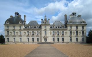 Замок Шеверни. Франция
