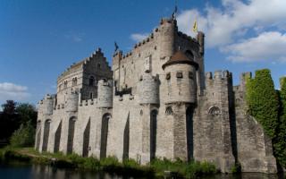 Замок во Фландрии. Бельгия