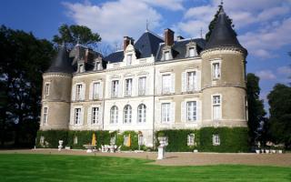 Туренский замок. Франция