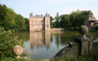Замок Шато Анвенг. Бельгия