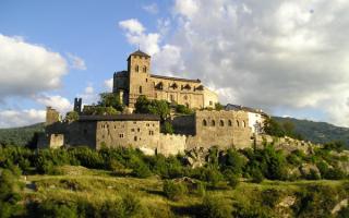 Замок Валере в Сьоне, Швейцария