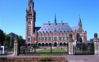 Нидерланды. Дворец Мира в Гааге