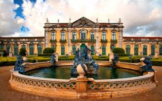 Дворец Келуш — дворец португальских королей в городе Келуш