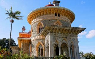 Дворец Монсеррат, Синтра, Португалия