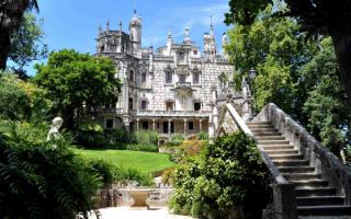 Кинта да Регалейра - дворцовый комплекс в Синтре, Португалия