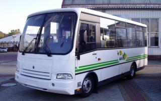 Bus Paz 3204 / Автобус ПАЗ 3204