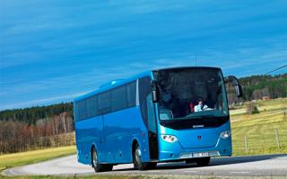 Bus scania / Автобус Скания