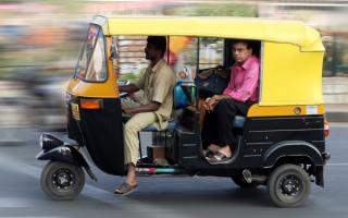 Моторикша в Индии