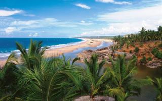 Побережье Индии в штате Керала