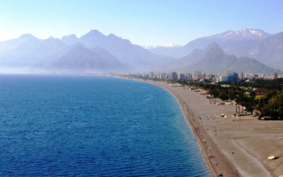 Пляж в Анталии