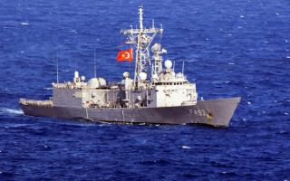 Турецкий сторожевой корабль