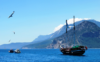 Турция. Море, яхты