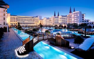 Турция, Анталия, отель MARDAN PALACE 5