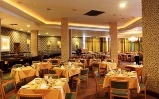 Ресторан отеля Pavlo Napa Beach 4 Айя-Напа Кипр