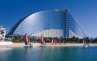 Отель Jumeirah Beach Hotel 5, ОАЭ,Дубай.