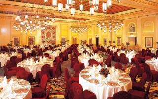 Ресторан отеля MINA A SALAM 5, ОАЭ