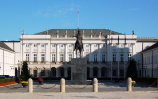 Варшава, президентский дворец