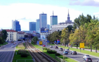 Варшава, проспект Независимости