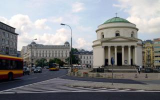 Костел Святого Александра в Варшаве