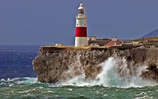 Маяк на Гибралтаре