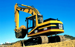 Экскаватор Caterpillar 318BL