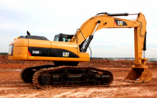 Экскаватор Caterpillar 340DL