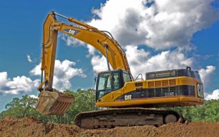 Экскаватор Caterpillar 345СL