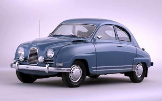 1960 SAAB 93 F