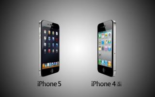 Смартфоны корпорации Apple iphone 5 и iPhone 4S
