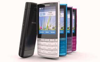 Телефоны Nokia X3-02