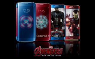 Samsung Galaxy S6 Avengers