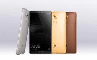 Cмартфоны Huawei Mate 8