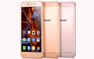 Cмартфоны VIBE K5  Lenovo