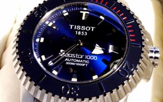 Часы Тissot seastar 1000