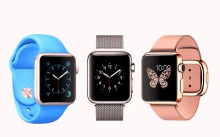 Умные часы Apple