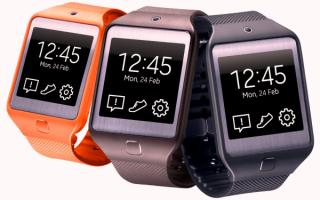 Умные часы Samsung Gear 2